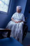 Woman in Wheelchair: Victim of Nursing Home Neglect