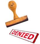 Denied Stamp - Insurance Bad Faith